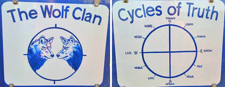 Wolf Clan Signs