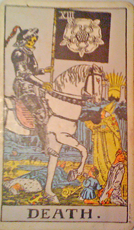 Death - XIIIth card of the Major Arcana in the Tarot
