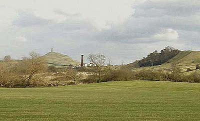 Bride's Mound,Tor, & Wearyall Hill